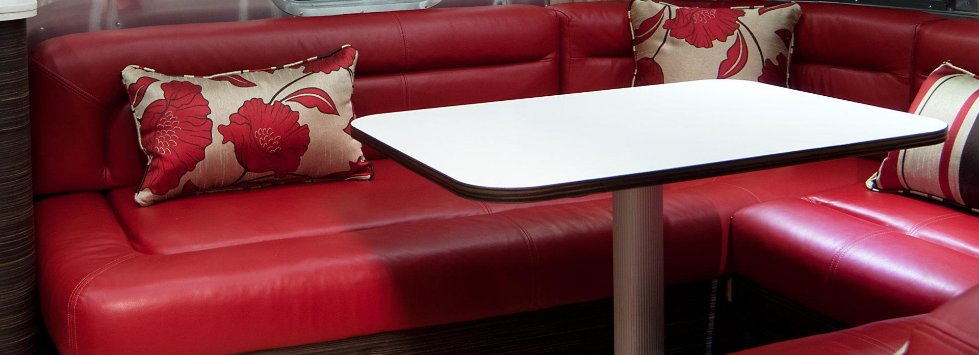 Polsterung Premium Leder Rot