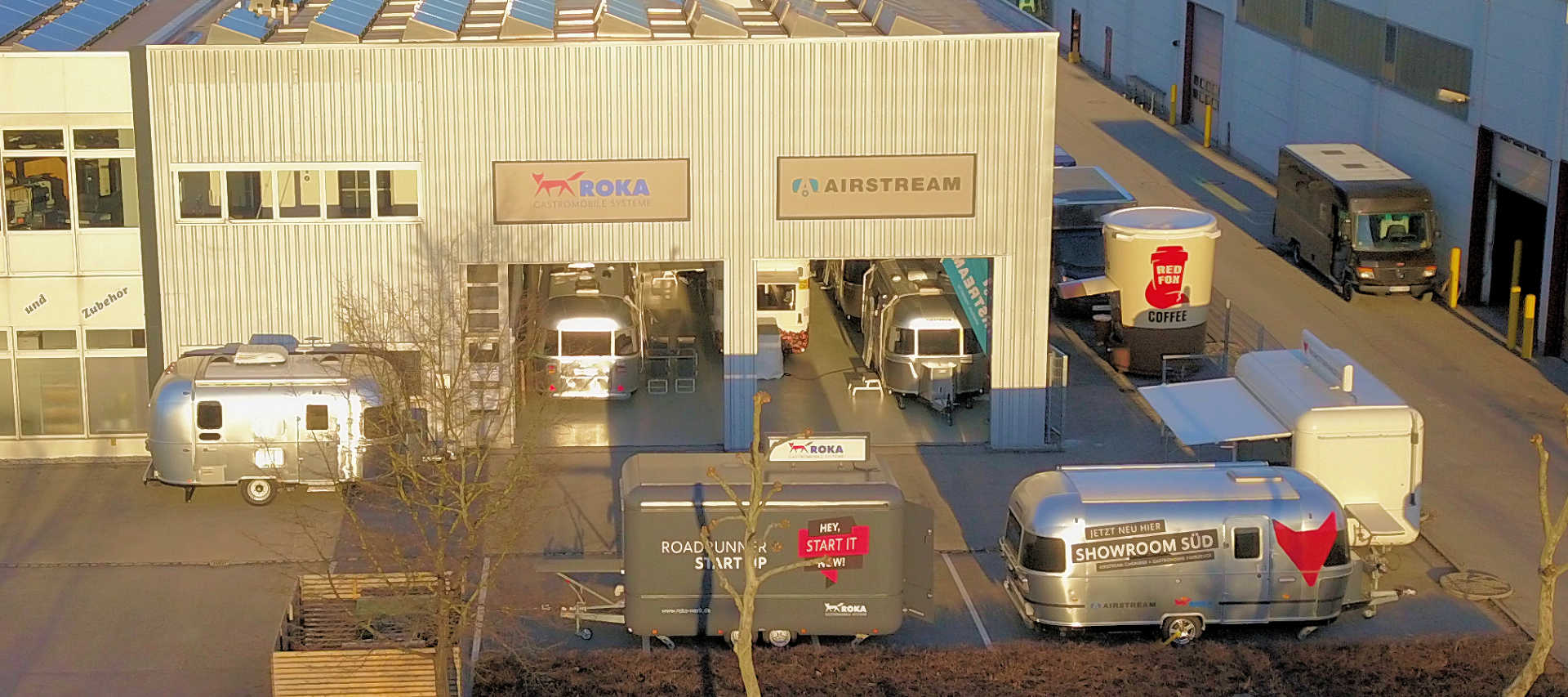 72e94197edf193 The Airstream and Roka Showroom South is conveniently located in  Augsburg Gersthofen